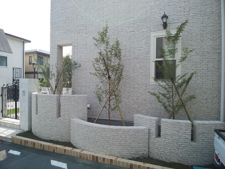 2018.6月 新築戸建 芝庭と植栽_e0029584_15101814.jpg