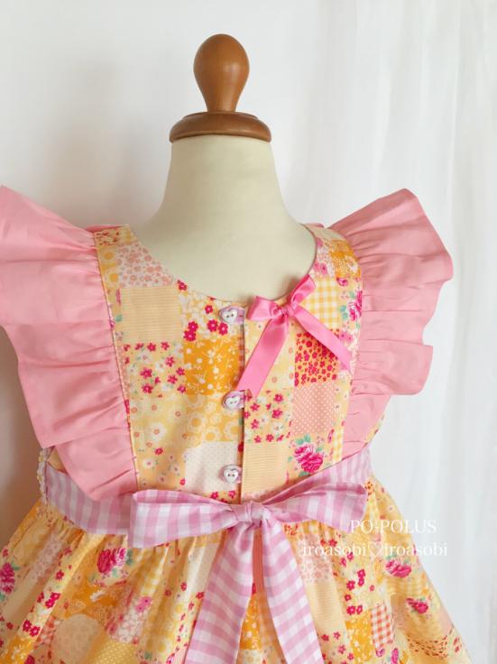 2019春夏♡子供服オーダー会【お花のティアード・ドレス】_c0153987_14302551.jpg