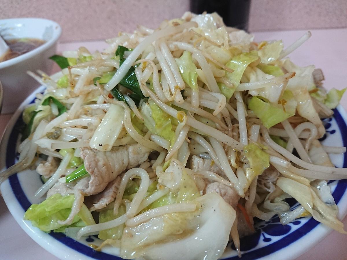 6/11  やまだ  肉野菜炒め定食¥670 @御茶ノ水_b0042308_18461064.jpg