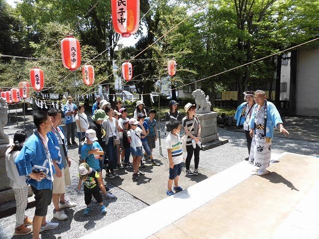 3日経った今朝も私は足腰が痛い! 吉原祇園祭で西仲町の山車の巡行_f0141310_06093055.jpg