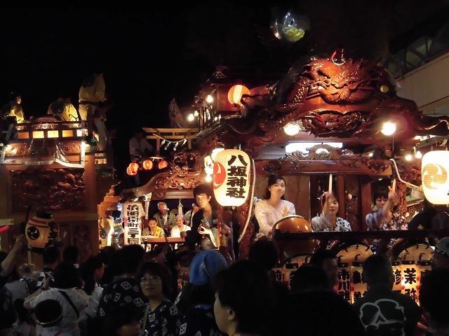 3日経った今朝も私は足腰が痛い! 吉原祇園祭で西仲町の山車の巡行_f0141310_06104592.jpg