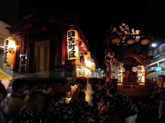 3日経った今朝も私は足腰が痛い! 吉原祇園祭で西仲町の山車の巡行_f0141310_06113004.jpg