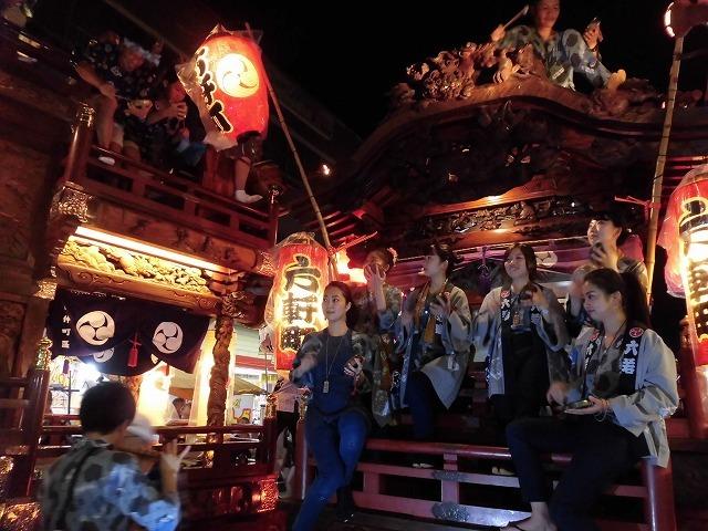 3日経った今朝も私は足腰が痛い! 吉原祇園祭で西仲町の山車の巡行_f0141310_06113608.jpg