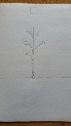 図画工作クラブ「たからのにわ」第一回~「自分の木」_f0208315_13484981.jpg