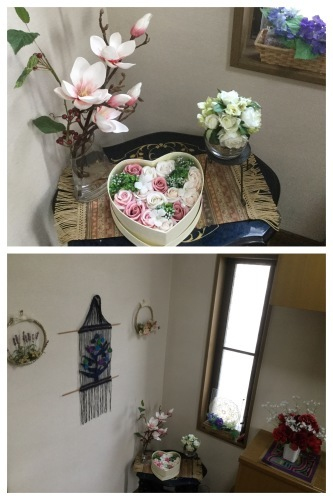 紫陽花 & 簡単拭き掃除のために_a0084343_13473208.jpeg