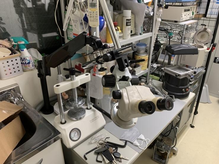 モニターアームに実体顕微鏡をつけてみる その2_b0112648_14001295.jpg