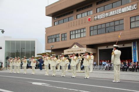 令和元年度十和田市消防団観閲式_f0237658_18344536.jpg