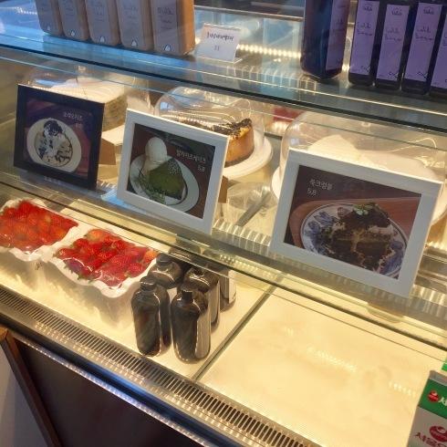 ひとりソウル旅 14 自然な味のヨモギケーキに感動☆_f0054260_15561354.jpg