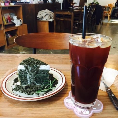 ひとりソウル旅 14 自然な味のヨモギケーキに感動☆_f0054260_15581907.jpg