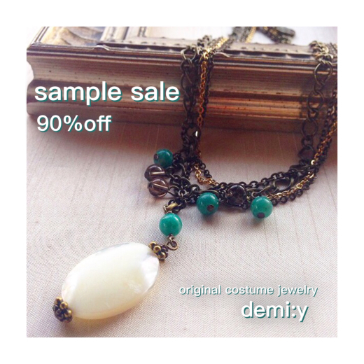 【sample sale】在庫に戻しました!_f0156861_09222271.jpg