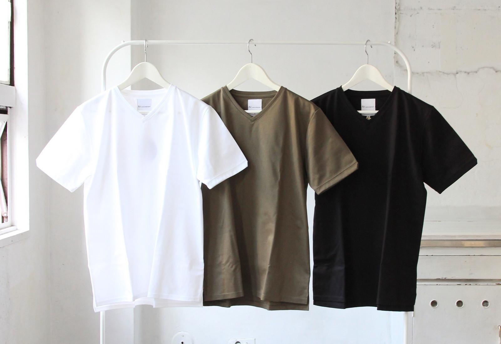 Tokyo Made Dress T-shirt (V-neck)_c0379477_07283166.jpg