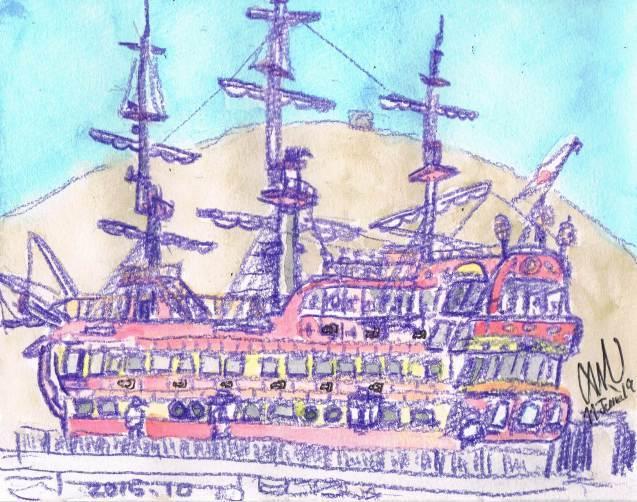 箱根の船_e0232277_11455834.jpg