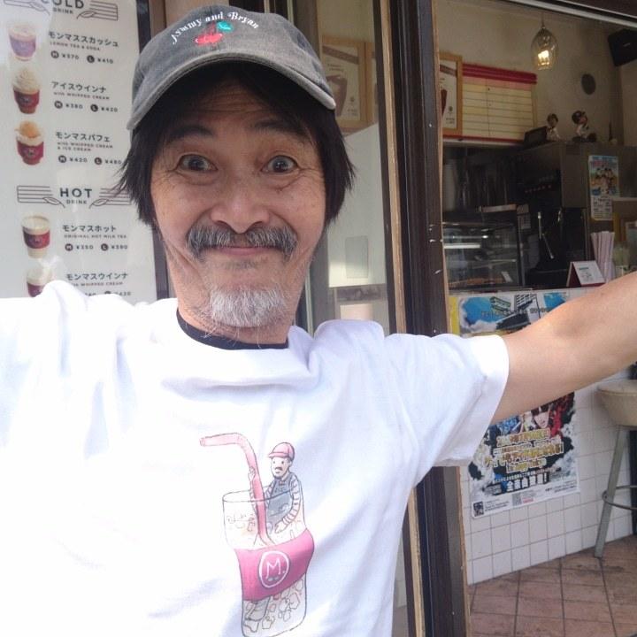 「紅茶やのおじさんティーシャツ」_a0075684_10210008.jpg