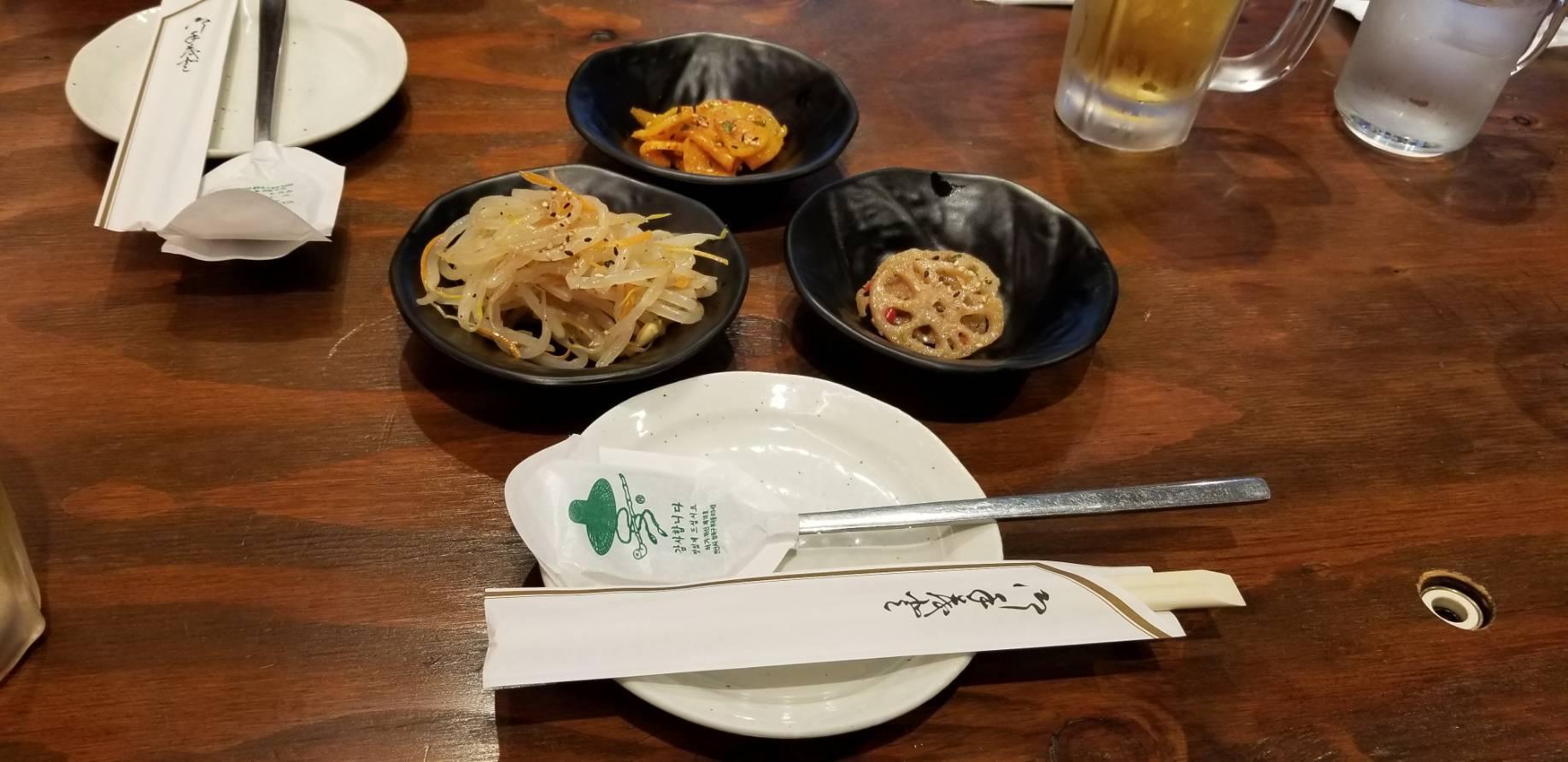 武蔵小山「ミスターチェジュ」で、美味しいスンドゥブチゲとユッケジャンクッパ。_a0223786_12304462.jpg