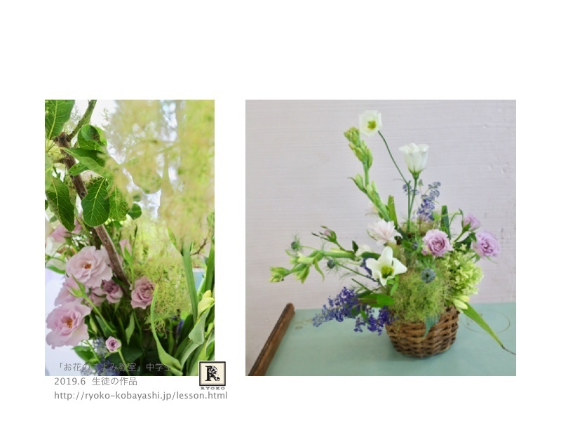 それぞれの花器に合ったデザインに、というのがテーマ。_c0128489_16423760.jpg