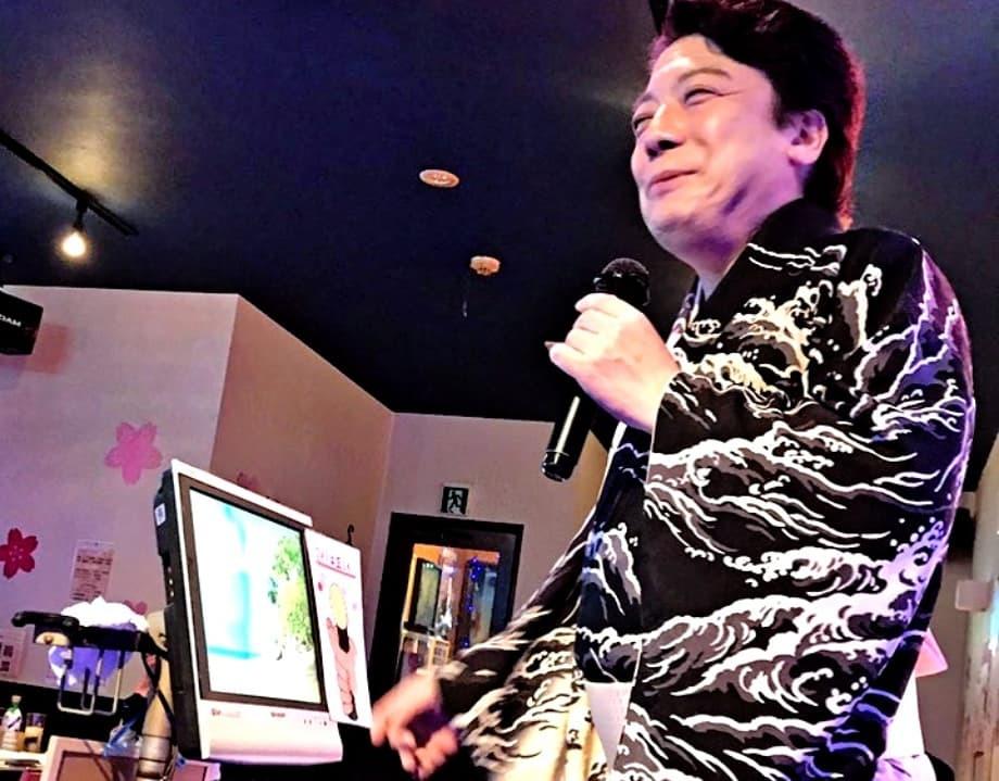 「歌う!セールスマン・ローカル線歌の旅」6月ロケ2日目_b0083801_13025167.jpg