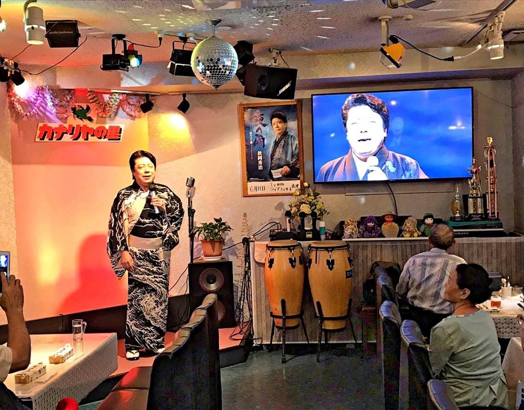 「歌う!セールスマン・ローカル線歌の旅」6月ロケ2日目_b0083801_13033500.jpg