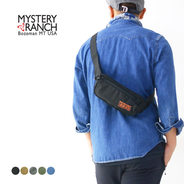 MYSTERY RANCH[ミステリーランチ] FORAGER HIPSACK [19761246] フォーリッジャーヒップサック・ウエストバッグ MEN\'S/LADY\'S_f0051306_15110553.jpg