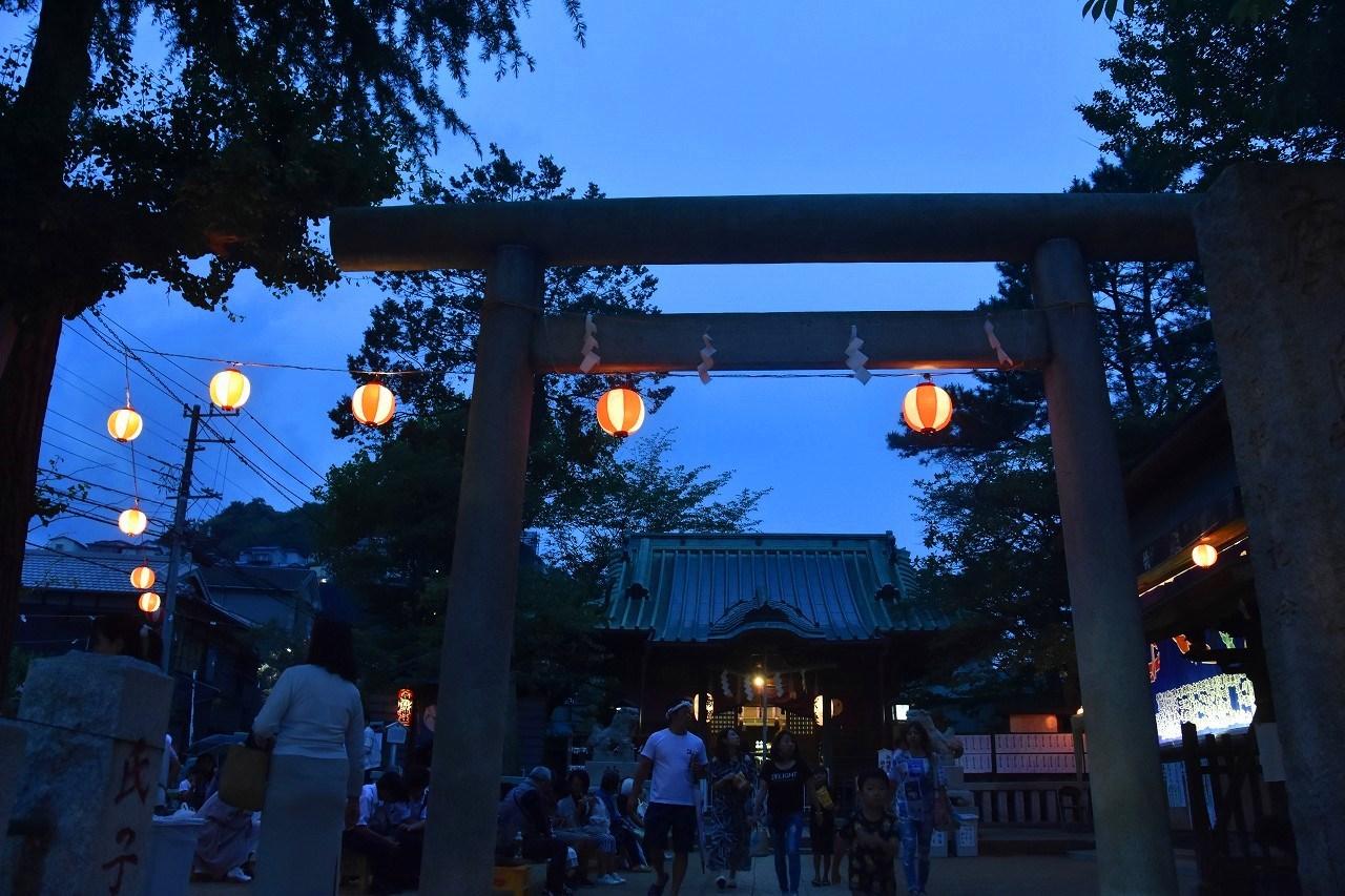 鹿島神社祭礼 昼も夜も食べ歩き♪_d0065116_22121758.jpg
