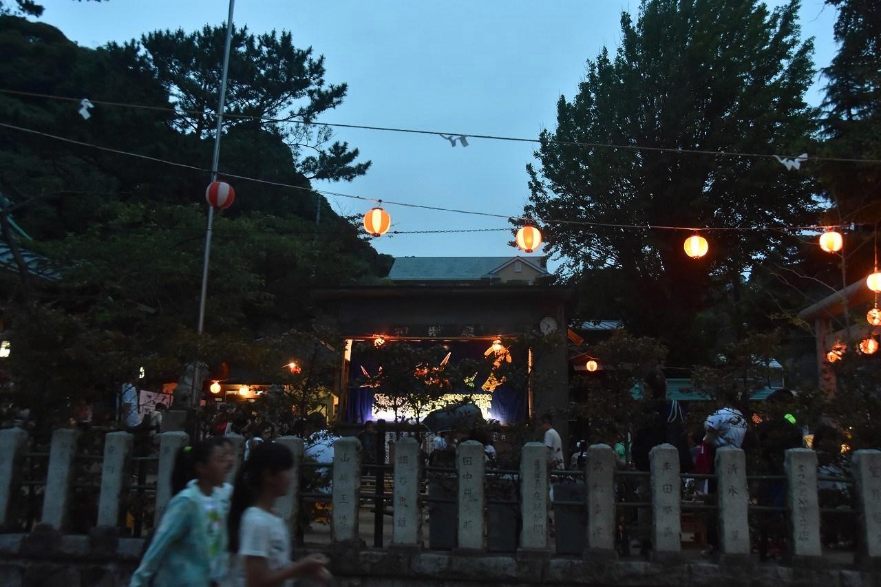 鹿島神社祭礼 昼も夜も食べ歩き♪_d0065116_22130218.jpg