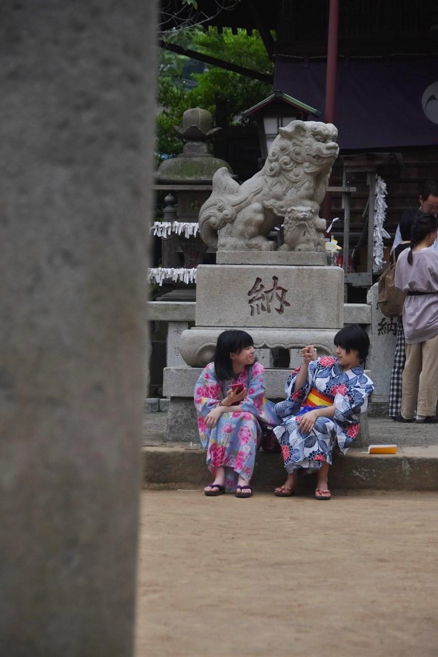 鹿島神社祭礼 昼も夜も食べ歩き♪_d0065116_22163683.jpg