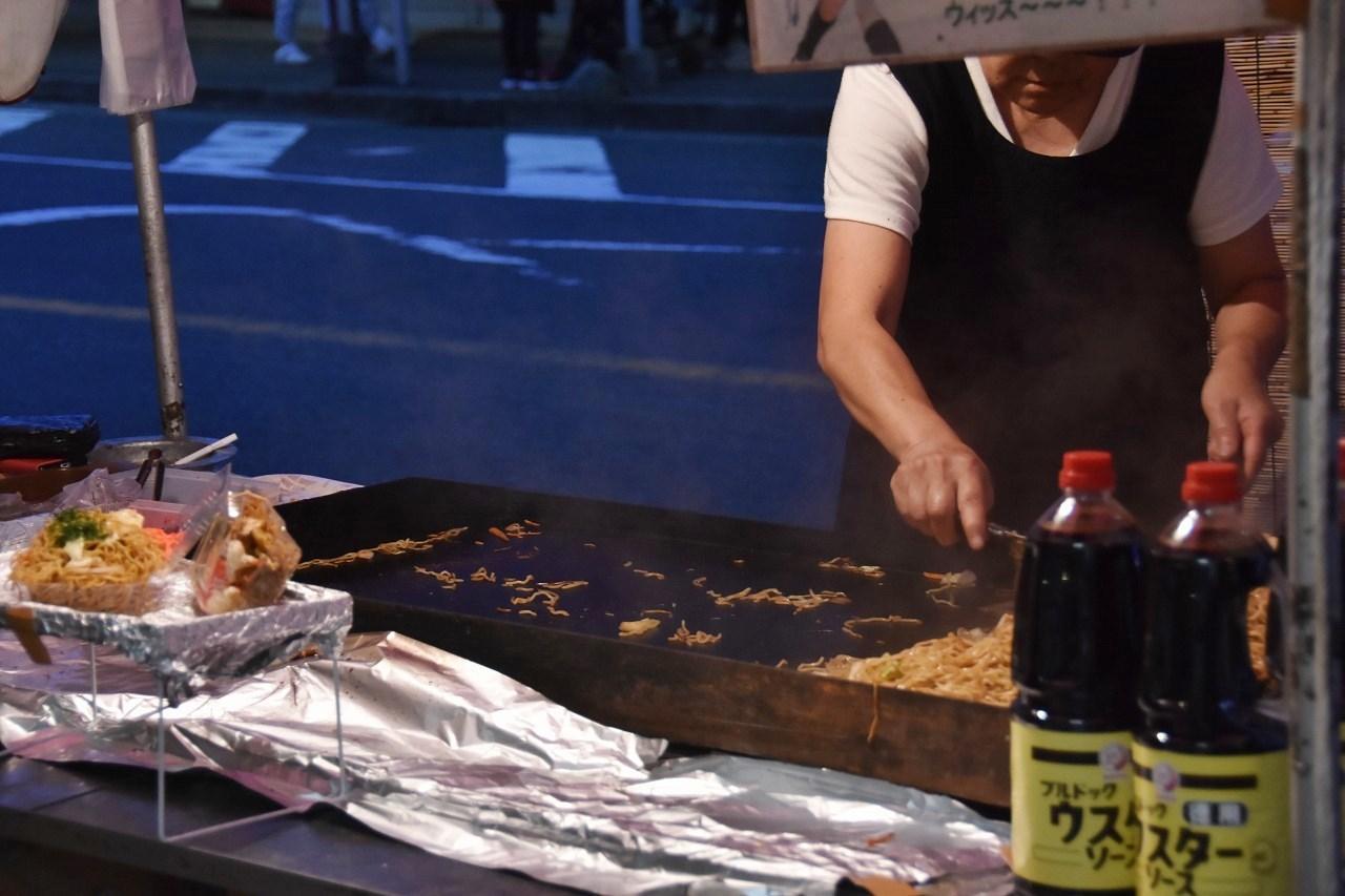 鹿島神社祭礼 昼も夜も食べ歩き♪_d0065116_22173752.jpg
