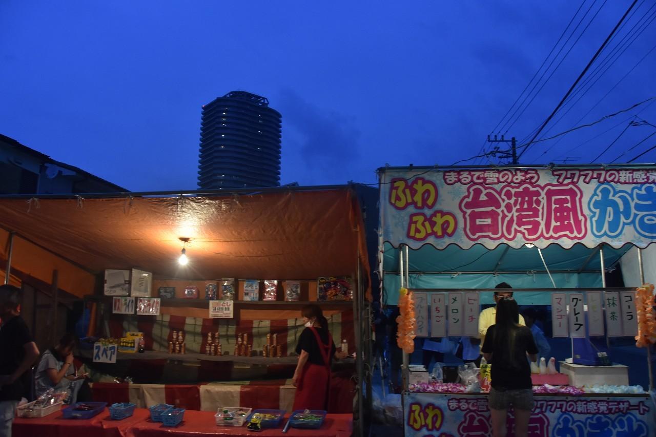 鹿島神社祭礼 昼も夜も食べ歩き♪_d0065116_22181268.jpg