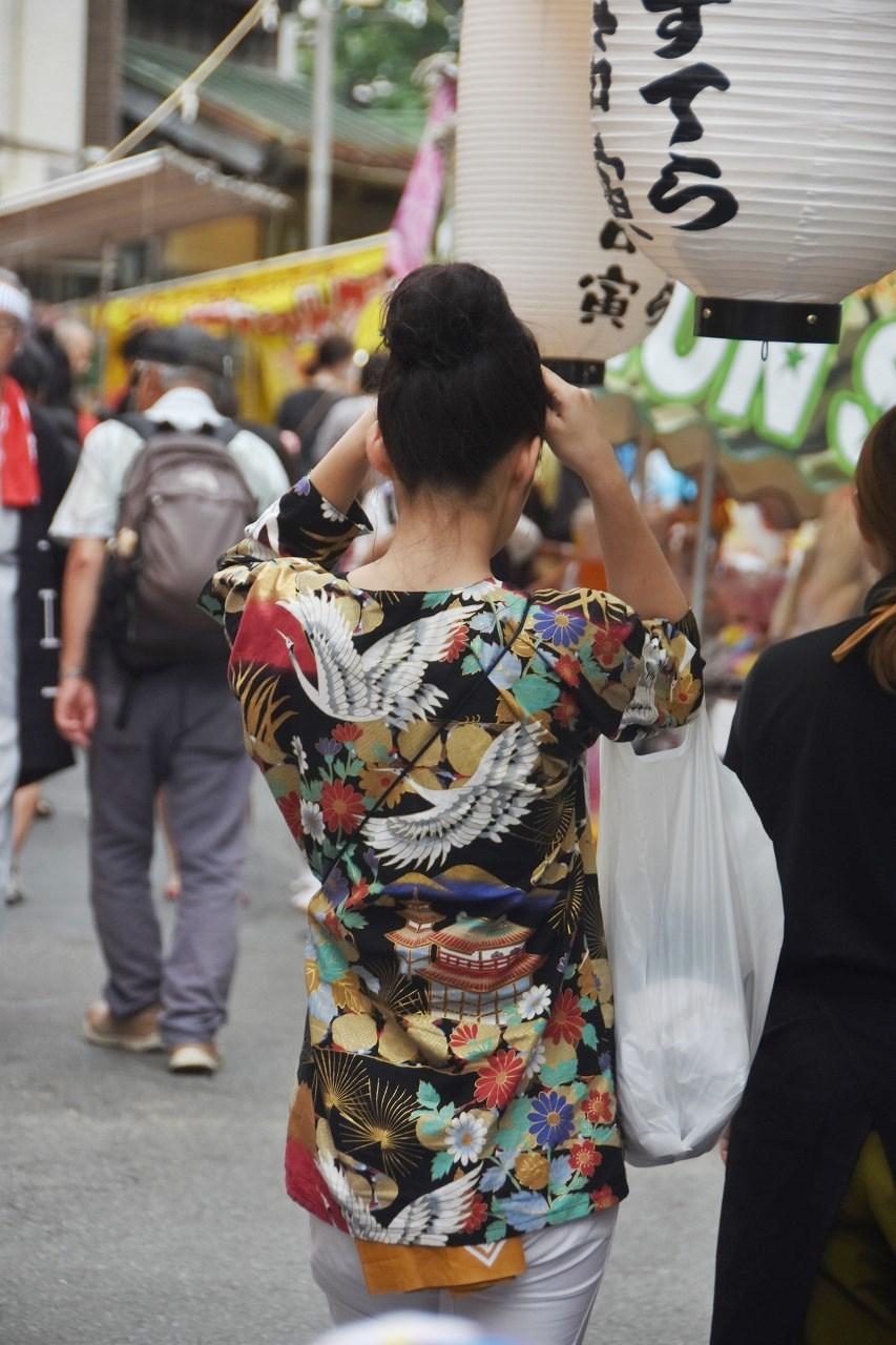 鹿島神社祭礼 昼も夜も食べ歩き♪_d0065116_22205114.jpg