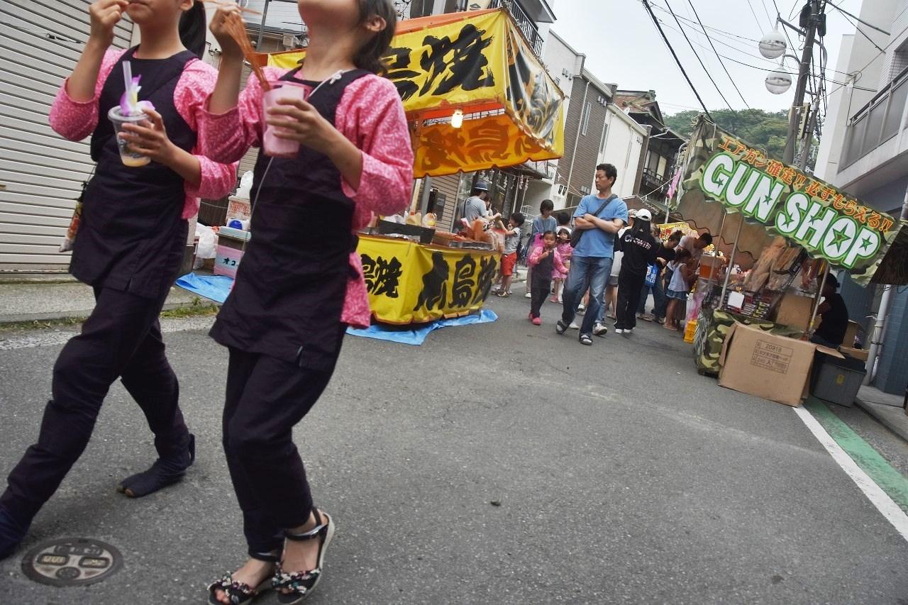 鹿島神社祭礼 昼も夜も食べ歩き♪_d0065116_22221590.jpg