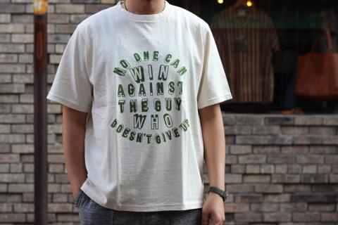 "「Jackman」べーブルースの名言 \""Print T-shirt\"" ご紹介_f0191324_08000632.jpg"