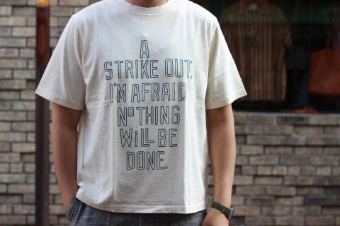 "「Jackman」べーブルースの名言 \""Print T-shirt\"" ご紹介_f0191324_08012034.jpg"
