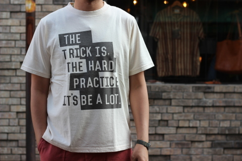 "「Jackman」べーブルースの名言 \""Print T-shirt\"" ご紹介_f0191324_08015154.jpg"