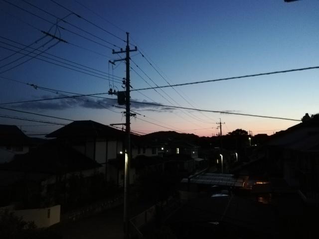 昨日の夕焼け_b0207631_12025728.jpg