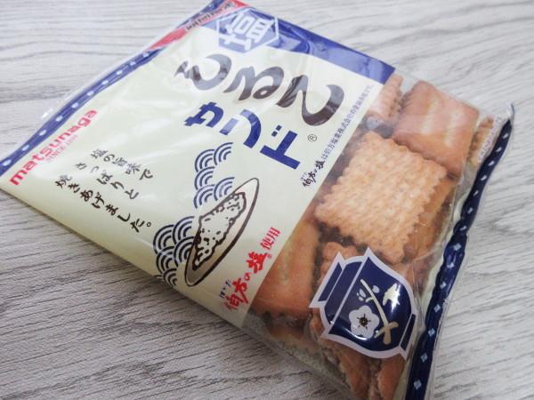 【松永製菓株式会社】塩しるこサンド_c0152767_21543789.jpg