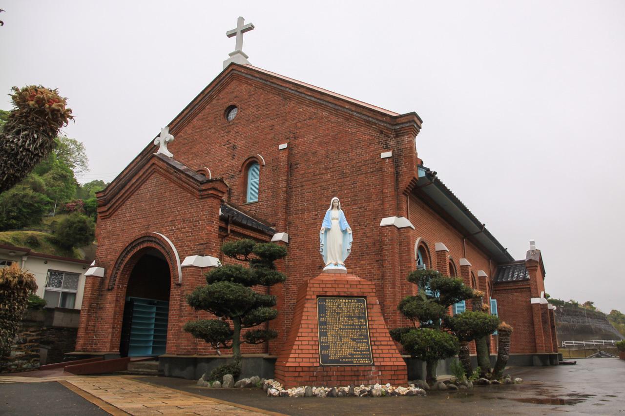 九州旅行9日目 長崎 外海地区 黒崎教会 枯松神社_a0052080_21161369.jpg