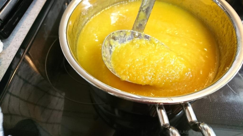 【レシピ】パイナップルとマンゴーのソース_e0167593_14320264.jpg
