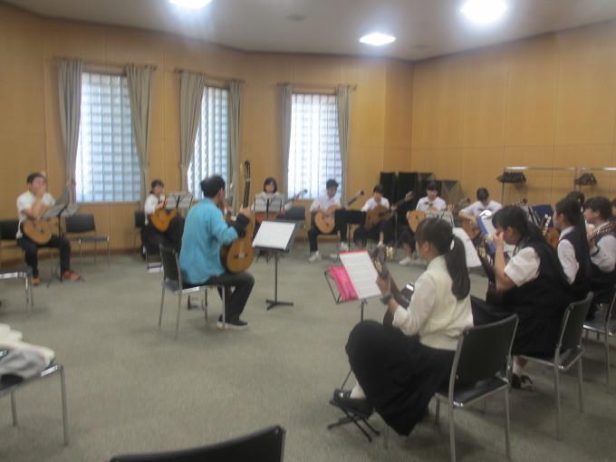 西播中学高校楽器講習会_d0077106_15570820.jpg