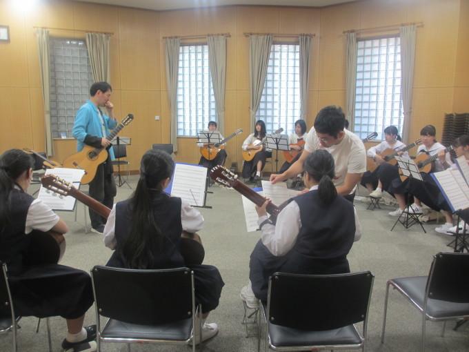 西播中学高校楽器講習会_d0077106_15571799.jpg
