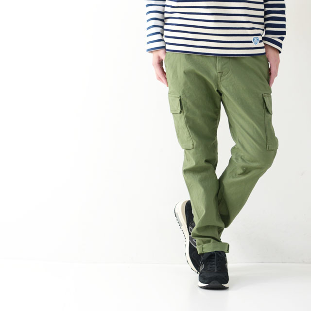 STUDIO ORIBE [スタジオオリベ] FRENCH CARGO PANTS [カーゴパンツ] [FC02] MEN\'S/LADY\'S_f0051306_12022840.jpg