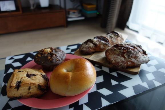 No.4のパンと初めて食べるまさもとさんのパン_e0230011_16572677.jpg