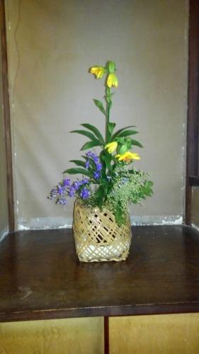 邸内に生けられた花 6月_d0344754_10413199.jpg