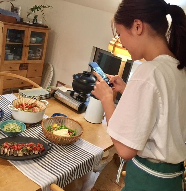 cooking  お嫁さんと一緒に♪_a0165160_23022340.jpg