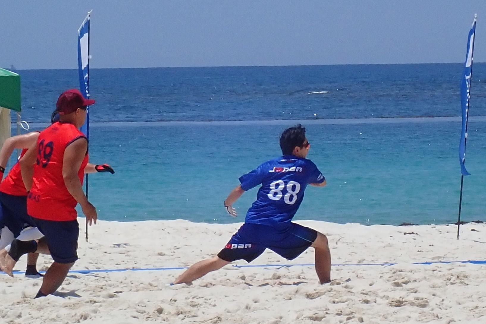 WFDF2019アジア・オセアニアビーチアルティメット選手権大会_f0164662_14022343.jpg