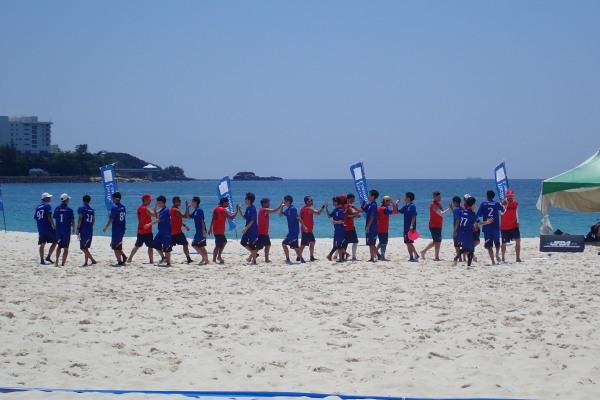 WFDF2019アジア・オセアニアビーチアルティメット選手権大会_f0164662_14024614.jpg