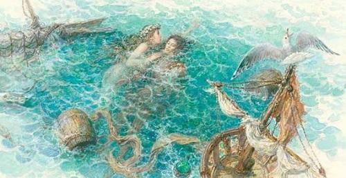 アントン・ロマエフ画の人魚姫_c0084183_13353659.jpg