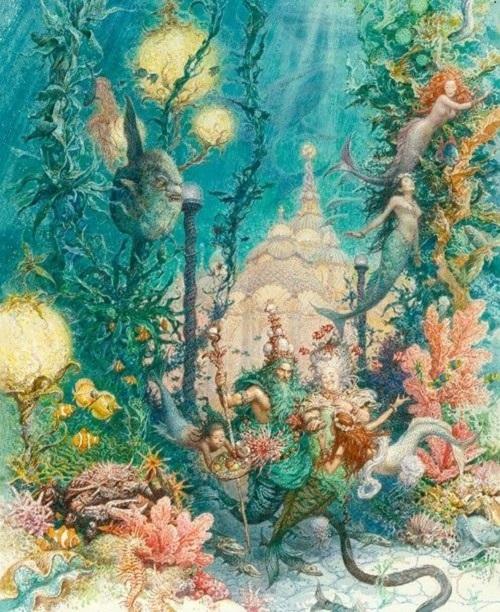 アントン・ロマエフ画の人魚姫_c0084183_1339362.jpg