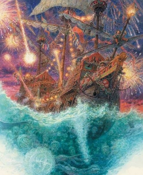 アントン・ロマエフ画の人魚姫_c0084183_13393799.jpg