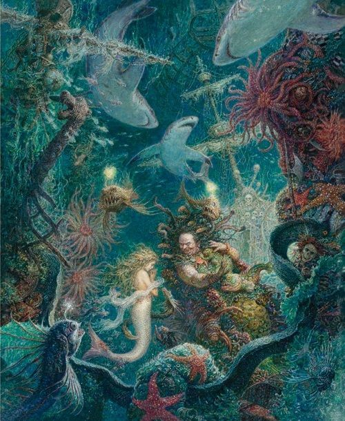 アントン・ロマエフ画の人魚姫_c0084183_1340127.jpg
