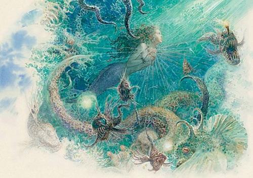 アントン・ロマエフ画の人魚姫_c0084183_1340183.jpg