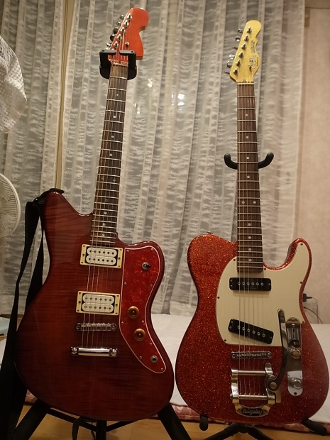 コンポーネントギター(ワ―モスボディ+USAカスタムギターズネック)ジャズマスターシェイプ_f0197703_18423709.jpg